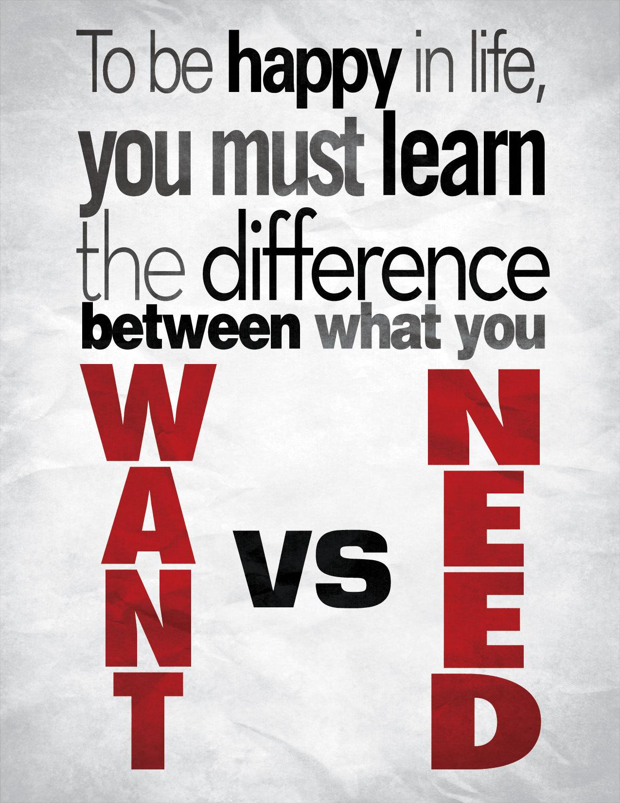want_vs_need_by_rogaziano