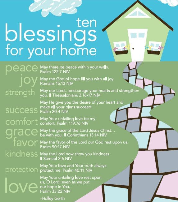 blessings for your home