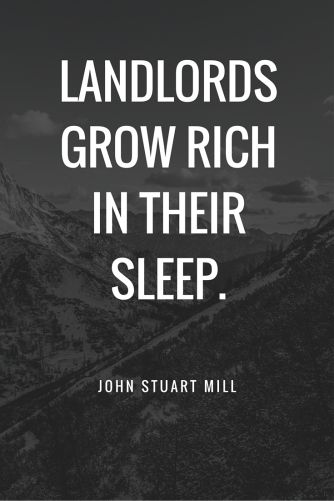 Landlords Grow rich